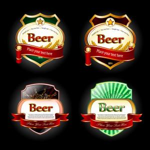 China manufacturing paper sticker,beer labels on sale