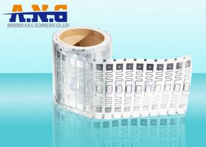 China PVC 860-960MHZ Rfid Wet Inlay Security H3 Chip 70mm x 19mm For Supply Chain on sale