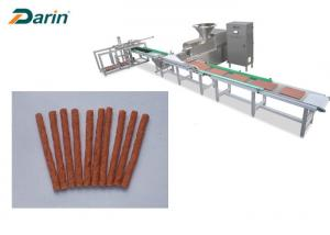 China Automatic Tray System Pet Food Production Line To Meat Strip Processing on sale
