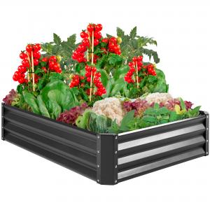 China Sturdy Steel 4x3ft Galvanized Raised Garden Beds on sale