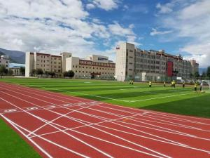 China Force Reductio 400 Meter Running Track, Cold Climate Proof Artificial Running Track on sale