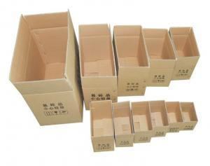 China Lots of Craft Packing Shipping Cartons Corrugated Boxes Choose Size on sale