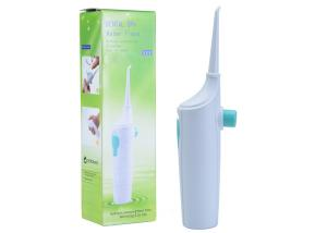 China Manual Type Oral Care Water Flosser , No Batteries Portable Oral Irrigator 80ML Capacity on sale
