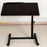 Small Rolling Adjustable Laptop Table Tiltable Tabletop Desk TV Stand DX-BJ17
