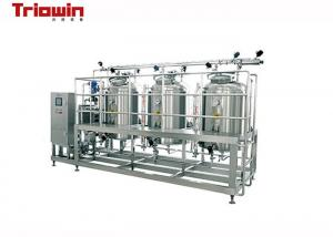 China Durable Small Scale Dairy Processing Line Uht Milk Processing Line 200KW on sale