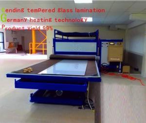 China EVA / PVB / TPU Glass Film Lamination Machine Furnace With Germany Technology on sale
