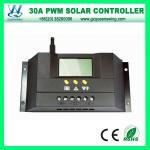 12V/24V 30A LCD表示(QWP-1430RSL)が付いている太陽充満コントローラー