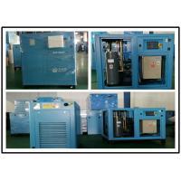 110KW Permanent Magnetic Screw Air Compressor , Industrial Portable Air Compressor