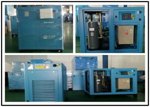 China 110KW Permanent Magnetic Screw Air Compressor , Industrial Portable Air Compressor on sale