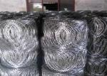 450mm Coil Blade Width 22mm Flat Razor Wrap Wire Coils For Fence Barrier