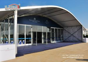 Quality 1000 People Party Tent Outdoor Event Tent With Glass Wall 20x50m Aluminum Tent for sale
