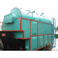 Radiant Heating Horizontal Coal Fired Steam Boilers 6 ton , Closed Vessel