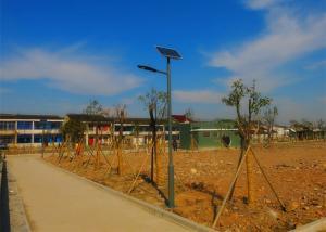 China Practical Tall Solar Powered Post Lights , Parks / Backyard Solar Led Post Lights on sale