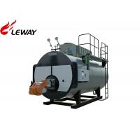 China 1.25MPa Oil Fired Steam Boiler Fire Tube Structure New Condition Full Combustion on sale