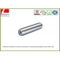 High Speed Machining Aluminium CNC turning sleeve with brushing