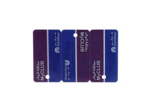 China Finance Field Die Cut Business Cards , Promotional Plastic Cards Active Power Supply Mode on sale