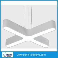 Super Bright Aluminum Interior Pendant Led Office Light With Led Tube Inside