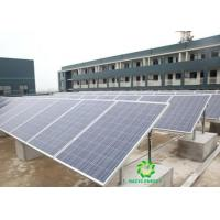China Easy Install Flat Solar Panel Roof Mounting Brackets , PV Panel Mounting Brackets on sale