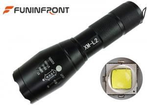 China 10W Cree XM-L T6 or L2 Handheld Zoom LED Flashlight Portable with 5 Light Modes on sale