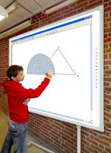 China La pantalla de proyección, Whiteboard interactivo, smartboard, smartscreen, el equipo de la educación, PH-1500-101D on sale