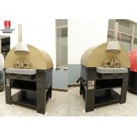 Commercial Round / Square Top Lava Rock Gas Italy Pizza Oven For Outdoor