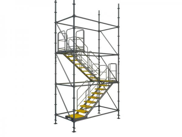 Flexible To Assemble And Disassemble Ring Lock Convenient Scaffolding Stair  Towers Images