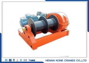 China Impact Protection M8 220V 20 Ton Electric Rope Winch on sale