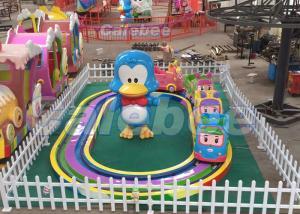 China Amusement Park Kids Amusement Rides Mini Train Rides 12 Months Warranty on sale