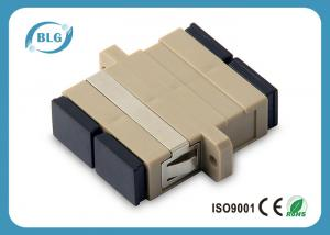 China SX / DX SC PC / APC Fiber Optic Cable Assemblies , SM / MM Fiber Optic Adapter on sale