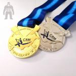 Sports Kids Basketball Medals  Plated  Finish  Gold/ Silver  Rose Color Available