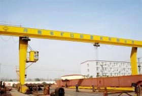 China L type 5~32t Single Beam Gantry Crane on sale