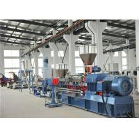 China TPV TPR Thermoplastic Plastic Pellet Extruder 300-400kg/H / Water Ring Cutting System on sale