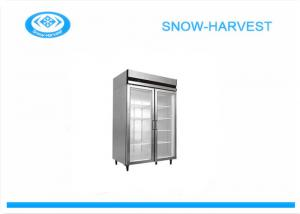 China Air Cooling  Refrigerated Display Cabinet With Powder Coated Steel Plate on sale