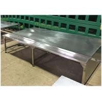 China Stainless Lab Furniture Stainless Steel Workbench for Laboratory Hospital Workshop Use on sale