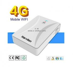 China Power band mobile wifi router LTE 4G hotsport wifi router with a Lan port battery 5200mAh on sale