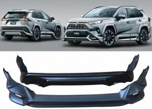 China TRD Style Body Kits Front and Rear Bumper Covers for Toyota Rav4 2019 2020 on sale