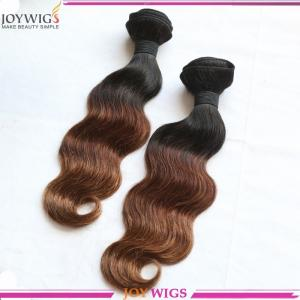 China hot sale hair weaving,cheap Indian virgin hair human hair weave, ombre hair weaves on sale