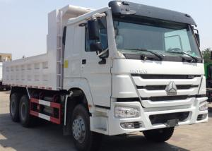 China Sinotruk Howo Tipper Dump Truck 6x4 For Construction Material And Mine Delivery on sale