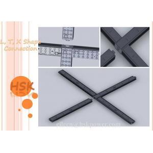 China 2FT suspendeu dispositivos bondes claros fluorescentes lineares para a sala de reunião, L conexão da forma de T X on sale