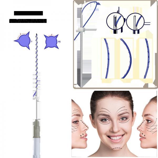 Non surgical 3d/4d cog pdo hilos tensores lifting thread