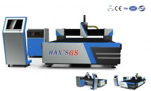 China Fiber Laser Cutting Machine for 5mm to 8mm Metal Cutting , Effective Cutting Size 1500*3000mm on sale