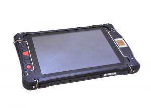 China IP65 Rugged Android RFID Biometric Fingerprint Scanner , 2D Barcode Scanner Tablet PC on sale