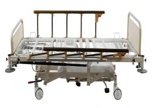China Hydraulic Hospital Bed With Pump For HI-LO Movement , Gas Spring For Trendelenburg on sale