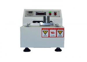 China Paperboard Printing Ink Testing Equipment , Rub Test Machine 60mm Friction Stroke on sale