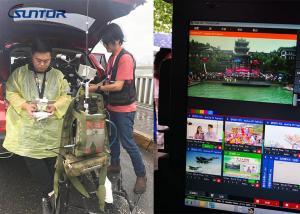 China 37dBm 10km COFDM Video Transmitter High Definition 2-8MHz Bandwidth on sale