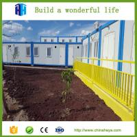 Prefabricated modular container workers camp project in El Salvador