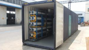 China Containerized Seawater Desalination Equipment RO Plant  Manufacturer on sale