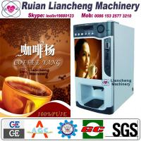China coffee machine vending  Bimetallic raw material 3/1 microcomputer Automatic Drip coin operated instant on sale