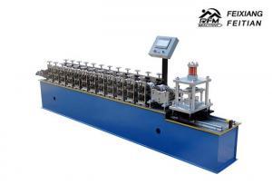 China Galvalume Roller Shutter Door Roll Forming Machine / Door Slats Making Machine on sale