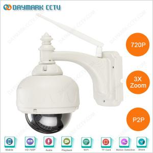 China H.264 720p android iphone app wifi mini ptz dome camera specification on sale